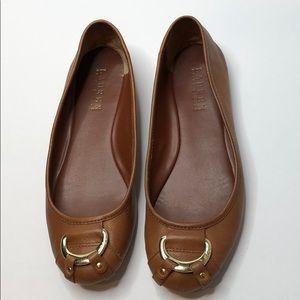 df3fa01f0e8 LAUREN by Ralph Lauren Abigale Size 7B Ballet Flat